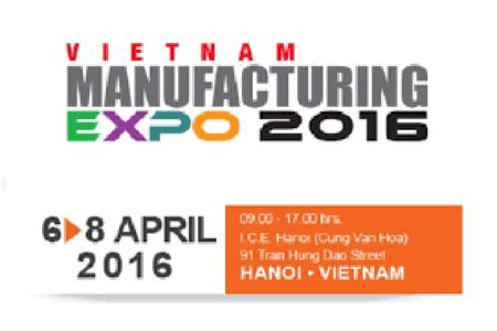 TRIỂN LÃM VIETNAM MANUFACTURING EXPO 2016